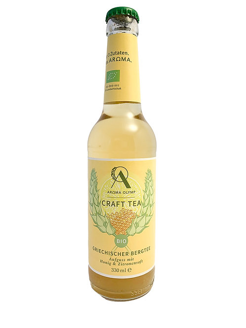 Craft Tea - Bergeistee Honig & Zitrone 330ml