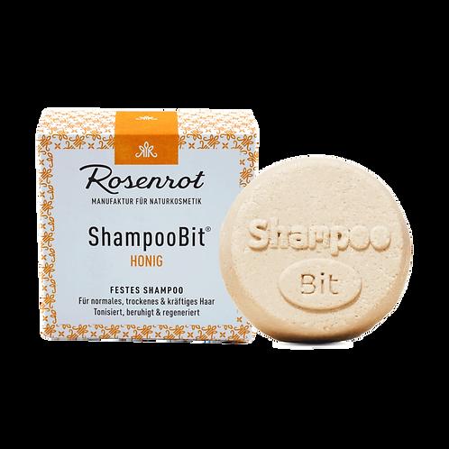 Shampoobit® Honig festes Shampoo Rosenrot