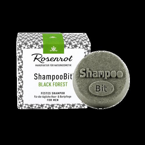 Shampoobit® MEN Black Forest festes Shampoo Rosenrot
