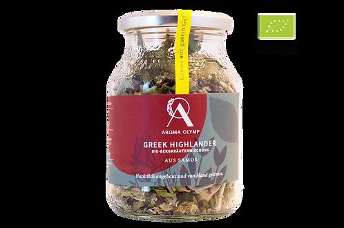 GREEK HIGHLANDER Bio-Bergkräuter-Mix