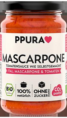 Mascarpone Tomatensauce 100% Bio