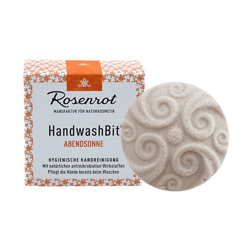 HandwaschBit® Abendsonne feste Waschlotion Rosenrot