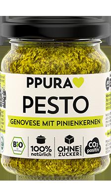 Pesto Genovese mit Pinienkernen 100% Bio