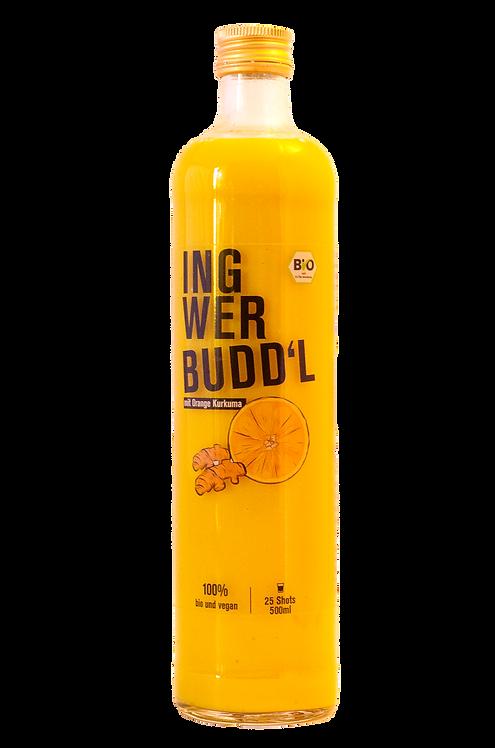 Ingwer Budd'l mit Orange & Kurkuma 500ml