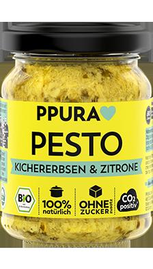 Pesto Kichererbsen & Zitrone 100% Bio