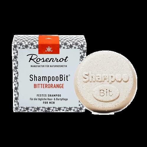 Shampoobit® MEN Bitterorange festes Shampoo Rosenrot