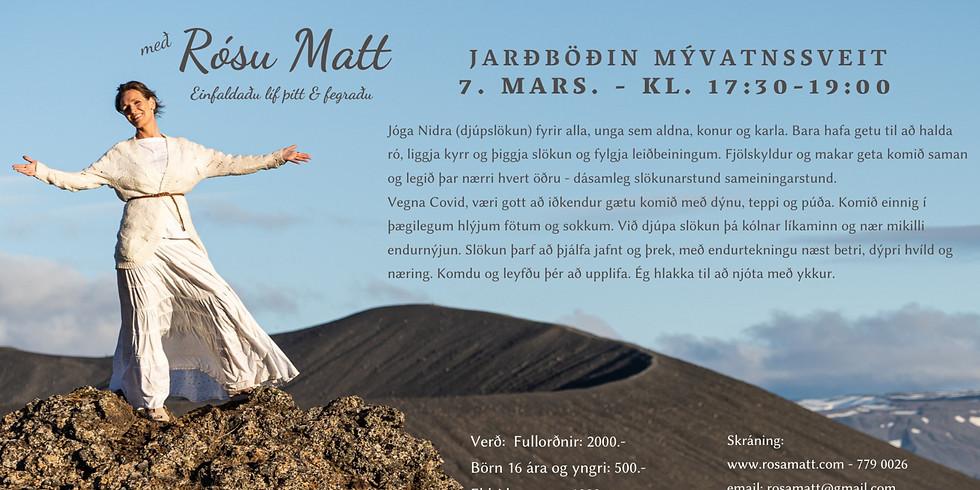Jarðböðin Mývatnssveit - Jóga Nidra & Gong slökun með Rósu Matt.