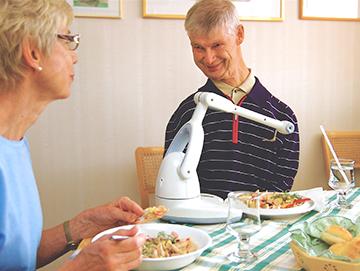 Bestic eating assist robotic arm