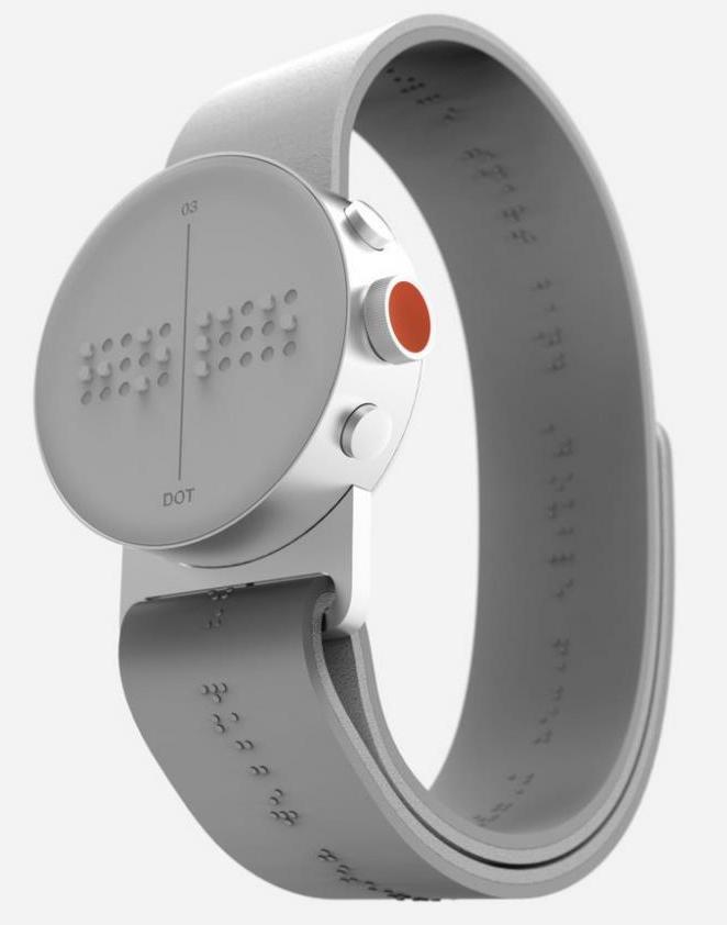 Braille watch