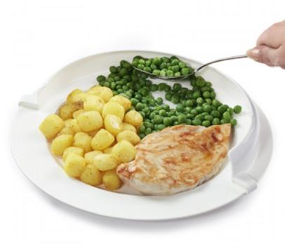 Plate rim riser