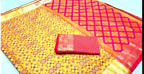 Exclusive Banarsi Silk Thred  Woven Saree