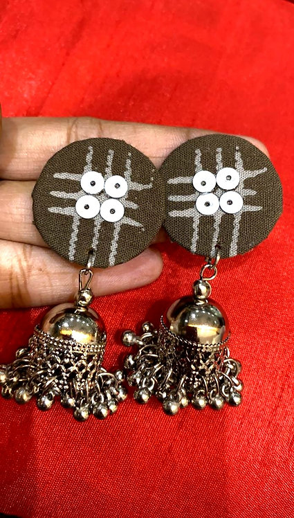oxidized earing for women