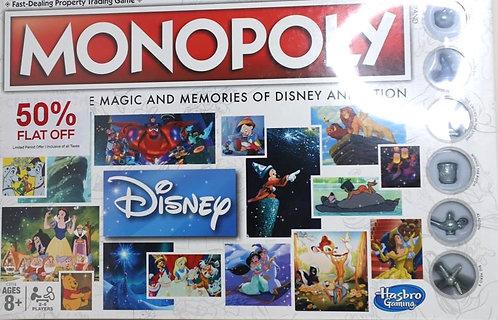 HASBRO Gaming Monopoly Disney Version