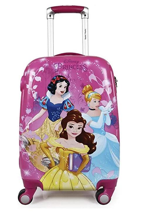 HUMPTY DUMPTY Disney Princess Group Pink Polycarbonate 18-Inch Trolley Bag
