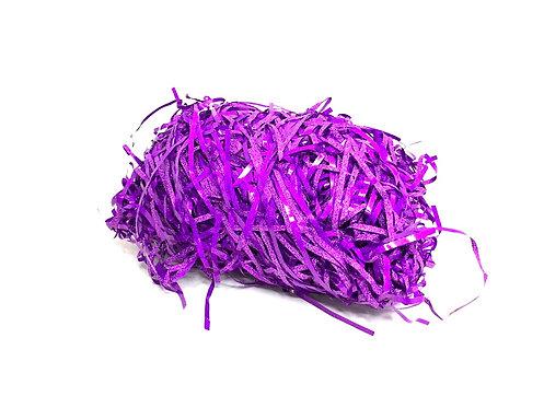 Paper Glitter Grass ( purple Colour )