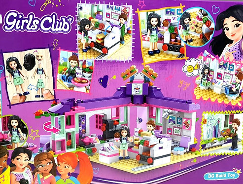 Girls Club DG Build Toy