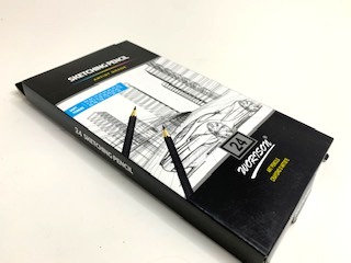 Sketching Pencil (24 pcs )