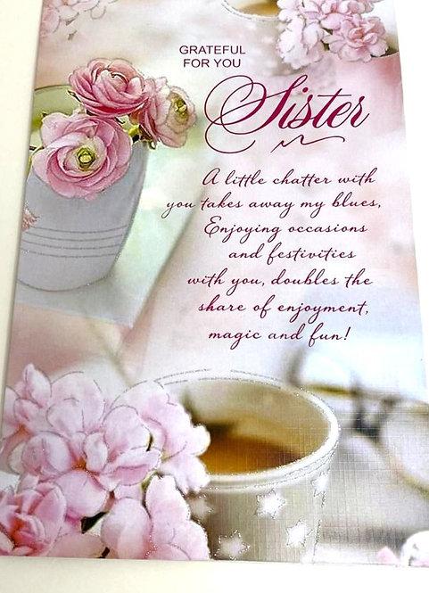 Rakhi Greeting Card For Sister