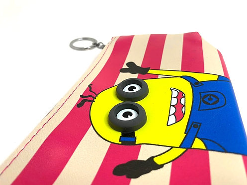 3D Eye Silicon Soft Minions Pouch