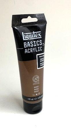 BASICS ACRYLIC COLOUR (bronze 118 ml )