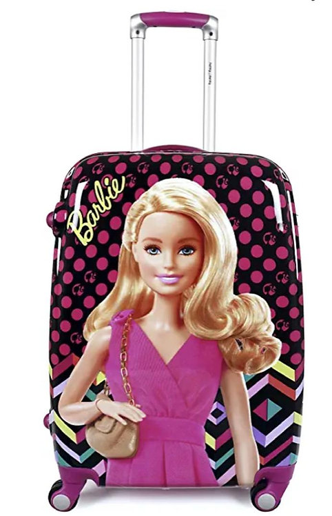 Exclusive Fashion Luggage Girl's 18-Inch Barbie Trolley/Suitcase Bag