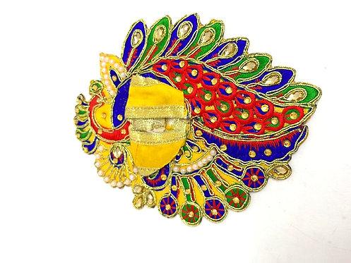 Krishna/laddu gopal poshak ( stone work )(yellow colour)
