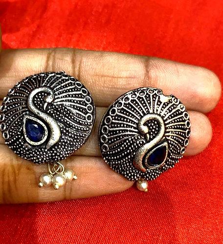 oxidized earing for women