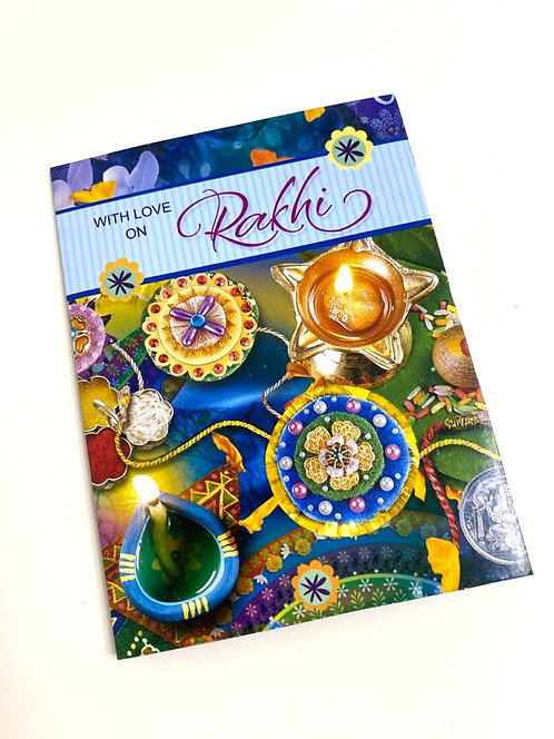 Rakhi Greeting Card Small Size