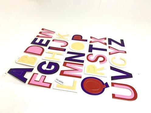 Alphabets Sticker