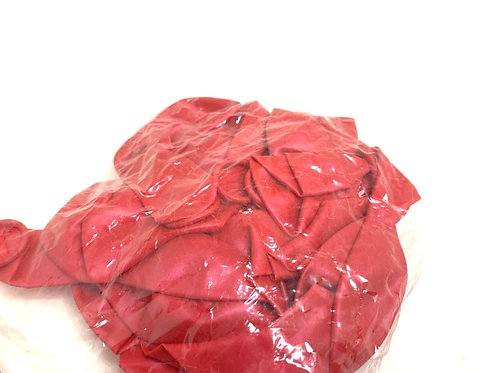 Large Size Balloons (20 pcs ) ( metalic   dark red  colour )
