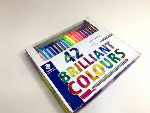 STAEDTLER brilliant colours (42 pcs)
