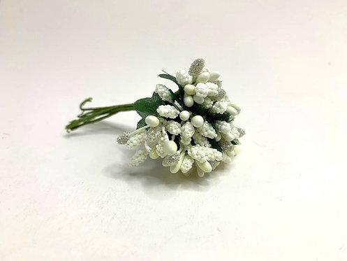 Decorative white flower