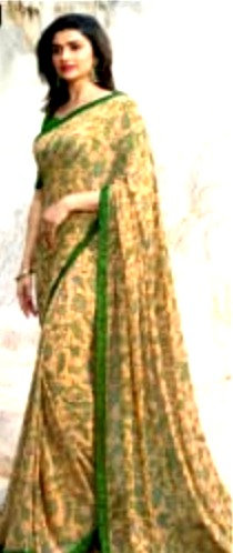 Soft Georgette Saree ( with blouse )