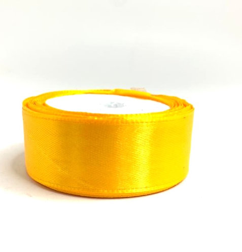 Satin Ribbon ( orange colour ) ( 10 mtr )