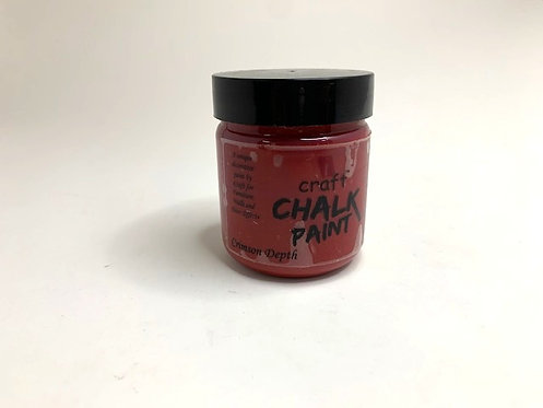 Craft Chalk Paint (crimson depth )