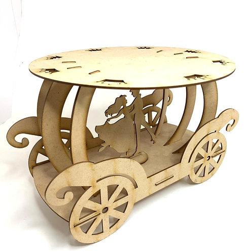 Decorative wooden craftring