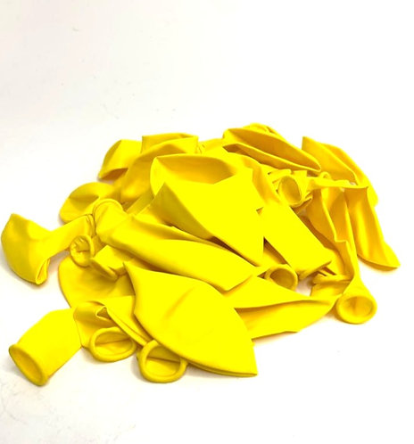 Large Size Balloons (35 pcs ) (yellow colour )