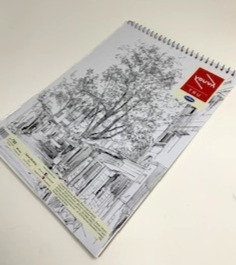 NAVNEET sketch spiral binded book(80 pages )(size 21 cm by 29.7 cm )