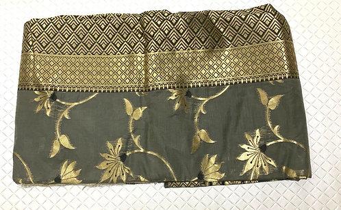 Jaquard Cotton Silk Saree