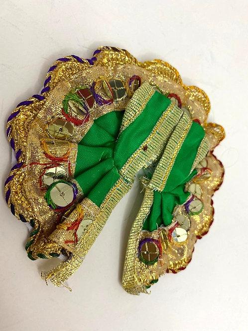 Laddu Gopal Krishna Poshak( green colour )