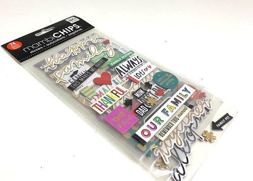 74 Scrap Book Stickers