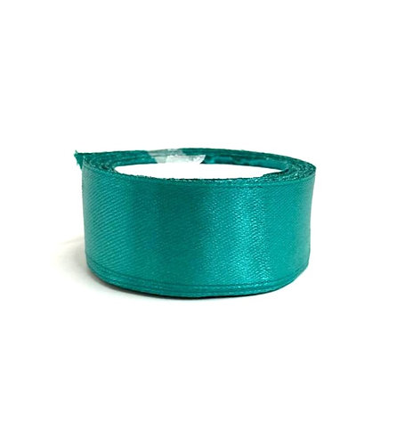 Satin Ribbon ( dark green  colour ) ( 10 mtr )