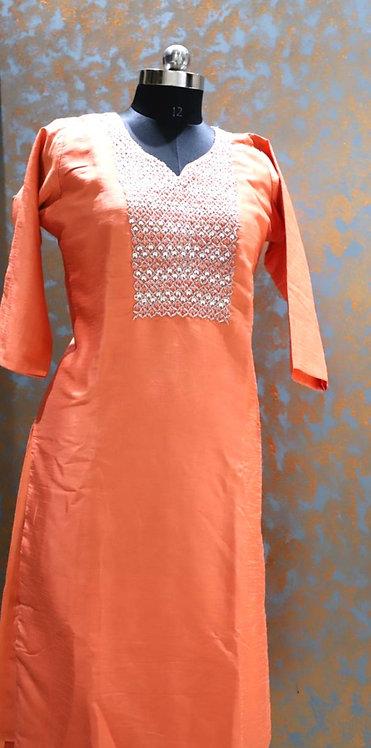 silk kurti ( size XL )