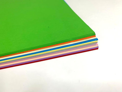 Colourfull A4 Size Paper ( 100 pcs )