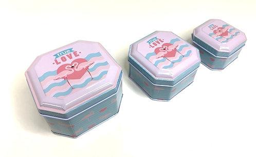 Multi Purpose  Metal Box ( set of 3 )