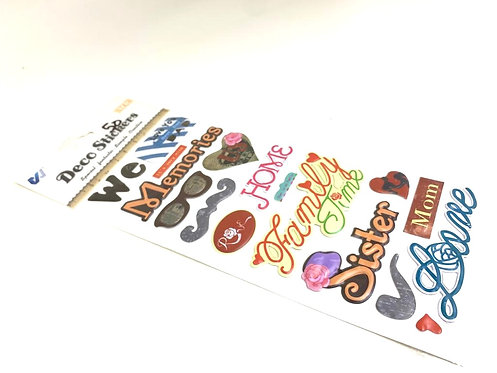 Deco Stickers (for scrap book )