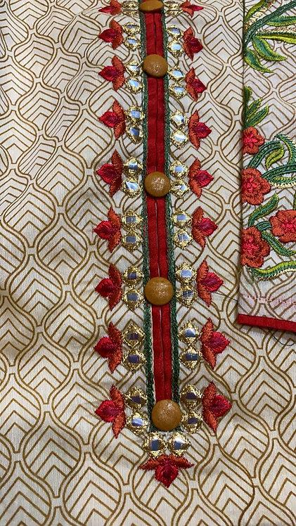 Stylish cotton silk kurti