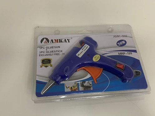 Glue Gun (small)+ Glue stick (Glue Gun colour may differ in delivery