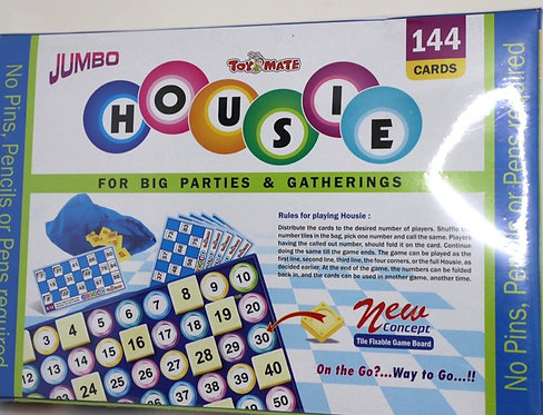 JUMBO HOUSIE( 144 CARDS )