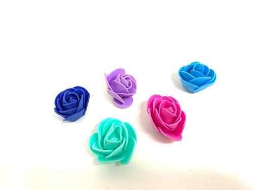 Fom sheet small size rose ( individual )